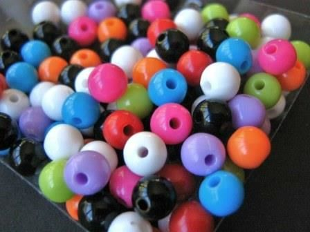 Assorted,6mm,Round,Acrylic,Beads,Opaque,White,Blue,Red,Orange,Pink,Purple,Black,Green,supplies,beads,acrylic_beads,round_beads,round_plastic_beads,6mm_round_bead,6mm_round_acrylic_beads,red_round_bead,blue_round_bead,green_round_bead,orange_round_bead,craft_supply,bead_store,bead_supply,Beads2string,jewelry_supply