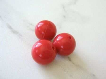 Opaque,Red,16mm,Round,Acrylic,Beads,supplies,Bead,acrylic_beads,red_plastic_beads,big_round_beads,16mm_round beads,bubble_gum_beads,gumball_beads,red_round_beads,round_plastic_beads,round_beads,red_beads,craft_supply,16mm_round_acrylic_beads,Beads2string,kawaii_beads,bead_supply