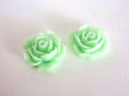 Green,17mm,Flower,Resin,Cabochon,Supplies,resin_cabochon,flower_cabochon,rose_cabs,flower_cabs,17mm_flower_cabochon,green_flower,flat_back_cabochon,Beads2string,resin_flower,bead_store,green_flower_cabochon,resin_flower_cabochon,flower_bead,17mm_flower_bead,bead_supply