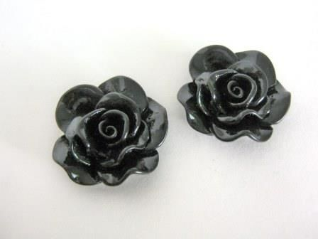 Black,Rose,30mm,Flower,Cabochon,Resin,supplies,black_rose,black_30mm_flower,flower_cabochon,rose_cabochon,black_rose_cabochon,acrylic_flowers,plastic_flowers,resin_flowers,flower_cabs,flat_back_flower,jewelry_supply,flower_beads,black_flower_cabochon,beads2string,bead_store,bead_supp