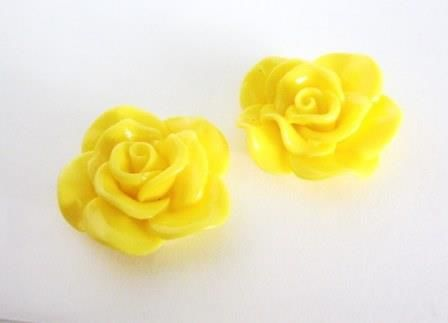 Opaque,Yellow,Rose,30mm,Flower,Cabochon,Resin,supplies,yellow_rose,yellow_30mm_flower,flower_cabochon,rose_cabochon,yellow_rose_cabochon,acrylic_flowers,plastic_flowers,resin_flowers,flower_cabs,flat_back_flower,jewelry_supply,craft supply,yellow_flower_cabochon,beads2string,bead_store,bead_
