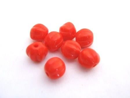 Opaque,Orange,Fluted,Round,6mm,Melon,Czech,Glass,Beads,supplies,beads,czech_bead,glass_beads,czech_glass_beads,orange_glass_beads,orange_opaque_melon_bead,6mm_round_bead,fluted_round,melon_beads,orange_beads,Beads2string,6mm_melon_bead,orange_melon_bead,czech_melon_bead,6mm_fluted_round_bead,jewelry_supply