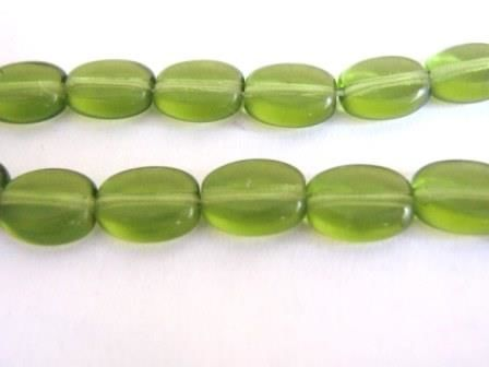 Olivine,Green,8x6mm,Flat,Oval,Czech,Glass,Beads,supplies,beads,czech_beads,czech_glass_beads,olivine_beads,green_czech_beads,glass_beads,8x6mm_oval_beads,flat_oval beads,oval_beads,green_oval_beads,czech_oval_beads,green_beads,Beads2string,bead_store