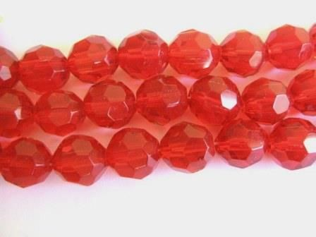 Transparent,Red,12mm,Faceted,Round,Glass,Beads,supplies,beads,glass_bead,round_beads,faceted_round_beads,red_beads,red_glass_beads,red_round_beads,red_round_glass_beads,12mm_round_beads,12mm_faceted_round_bead,round_glass_bead,Beads2string,bead_supplies,12mm_round_glass_beads