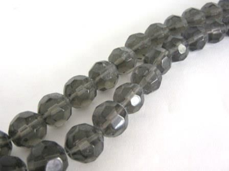 Transparent,Gray,14mm,Faceted,Round,Glass,Beads,supplies, Bead, Glass_ beads, gray_round_glass_beads, round_glass_beads, gray_glass_beads, faceted_round_beads, 14mm_round_beads,1 4mm_round, big_round_beads, round_beads, craft_supplies, gray_beads, bead_supplies, beads2string, jewelry_making_beads, bead
