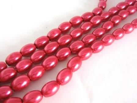 Red,8x11mm,Oval,Glass,Pearl,Beads,beads,supplies,oval_beads,glass_beads,oval_glass_bead,glass_pearl_beads,red_glass_pearl_beads,red_beads,oval_glass_pearl_beads,8x11mm_oval_beads,glass_pearls,red_oval_beads,Beads2string,red_glass pearls,bead_store,craft_store