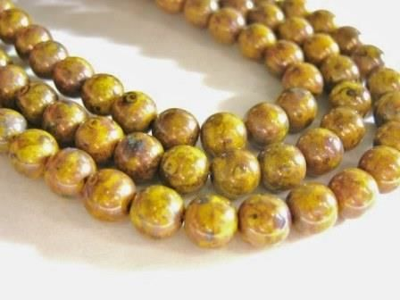 Opaque,Yellow,Bronze,Picasso,6mm,Round,Czech,Glass,Beads,supplies,bead,yellow_bronze_bead,yellow_beads,czech_picasso_bead,czech_beads,czech_yellow_bead,czech_druk,yellow_round_beads,round_glass_beads,yellow_glass_beads,yellow_druk,yellow_picasso,6mm_round_yellow_beads,glass_beads,Beads2string, czech_round_beads