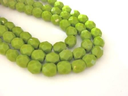 Opaque,Green,4mm,Faceted,Round,Czech,Glass,Beads,beads,supplies,glass_bead,green_opaque_round_bead,4mm_round_czech_bead,czech_opaque,green_round_beads,green_glass_beads,round_glass_beads,czech_beads,round_beads,czech_round_beads,4mm_czech_bead,green_beads,bead_store,Beads2string,czech