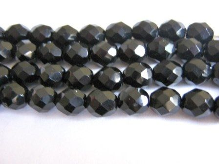 Jet,Black,4mm,Faceted,Round,Czech,Glass,Beads,Fire,Polished,beads,supplies,czech_beads,black_round_beads,4mm_faceted_round_beads,black_4mm_round_beads,round_beads,black_beads,czech_glass_beads,fire_polished_beads,Beads2string,bead_ store,czech_jet_bead,4mm_czech_bead,faceted_round_bead