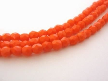 Opaque,Orange,4mm,Faceted,Round,Czech,Glass,Beads,Fire,Polished,beads,supplies,czech_beads,orange_round_beads,4mm_beads,4mm_faceted_round_beads,orange_beads,round_czech_beads,fire_polished_beads,4mm_round_beads,czech_glass_beads,Beads2string,bead_store,opaque_orange_beads
