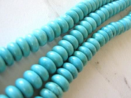 Turquoise,Howlite,9mm,Rondelle,Gemstone,Beads,Spacer,Supplies,Bead,turquoise_howlite_beads,turquoise_beads,blue_gemstone,howlite_rondelle_beads,rondelle_gemstone,rondelle_beads,blue_beads,spacer_beads,imitation_turquoise,turquoise_howlite_rondelle,bead_store,beads2string,9mm_rondelle_beads