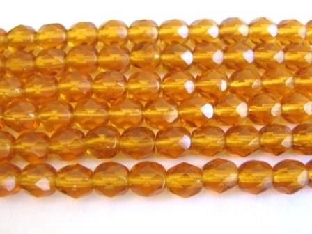 Topaz,6mm,Faceted,Round,Brown,Czech,Glass,Beads,supplies,beads,glass_beads,czech_glass_beads,topaz_czech_beads,czech_beads,brown_glass_beads,brown_beads,faceted_round,6mm_round_beads,transparent_glass,round_bead,Topaz_czech_beads,Beads2string,brown_round_Czech_beads,bead_store,jewelry_supplies