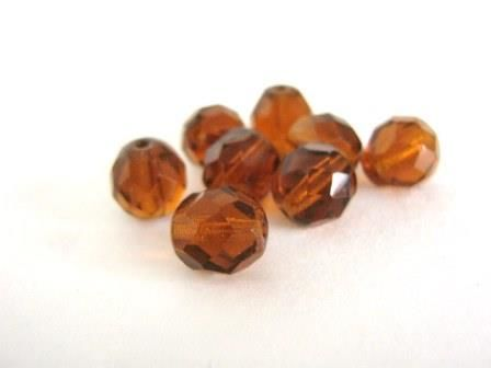 Brown,6mm,Faceted,Round,Czech,Glass,Beads,Madeira,Topaz,Fire,Polished,supplies,beads,czech_beads,brown_round_beads,transparent_brown_beads,madeira_topaz_beads,6mm_faceted_round_beads,fire_polished_beads,glass_beads,topaz_beads,Beads2string,brown_czech_glass_beads,brown_6mm_round_beads,6mm_czech_beads