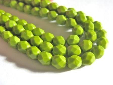 Green,6mm,Faceted,Round,Czech,Glass,Beads,Opaque,Olive,beads,supplies,green_opaque_beads,czech_opaque_beads,green_glass_beads,green_round_beads,round_glass_beads,6mm_round_beads,czech_beads,green_beads,round_czech_beads,Beads2string,bead_store, fire_polished_bead
