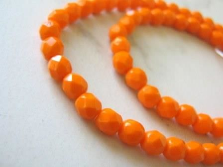 Opaque,Orange,6mm,Faceted,Round,Czech,Glass,Beads,Supplies,Bead,orange_opaque_beads,czech_beads,czech_glass_beads,faceted_round,orange_round_beads,orange_czech_beads,6mm_round_beads,orange_beads,orange_glass_beads,czech_round_beads,beads2string,6mm_czech_beads,jewelry_supplies