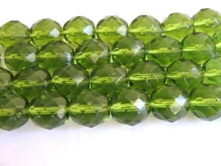 Olivine,Green,12mm,Faceted,Round,Czech,Glass,Beads,supplies,Bead,czech_bead,czech_glass_beads,green_beads,fire_polished_bead,green_round_beads,olivine_beads,12mm_faceted_round,glass_beads,Beads2string,green_czech_beads,bead_store,jewelry_supplies
