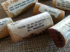 Inspirational,Magnet,Quotes-,hostess,gift,,housewarming,,treat,yourself,,recycled-,Grab,Bag,Sale-,Reg,Price,21.00,Housewares,inspirational_magnet,recycled,wine_cork,magnets,cork_magnets,party_favor,hostess_gift,stocking_stuffer,teen_gift,courage,encouragement,beach_chik