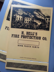 H.Bells,Fire,Protection,Co,Match,Book,Collectors,(Vintage),Vintage,Collectibles,Souvenir,matchbooks,collectors_book,matchbook_collector,match_book_collector,great_git_for_him