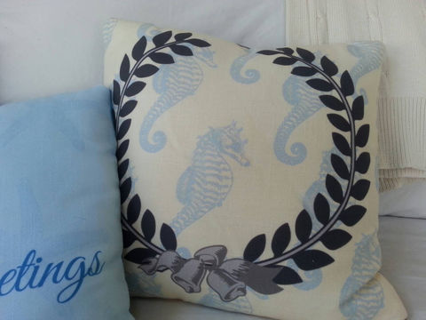 Coastal,Christmas,Vintage,Laurel,Wreath,Pillow,,Seahorse,Housewares,Pillow,Novelty,Christmas_pillow,coastal_Christmas,beach_house_decor,coastal,santa_pillow,seahorse_pillow,Christmas_seahorse_I,beachy_Christmas,buttercream,holiday_pillow,laurel_wreath,laurel_wreath_pillow