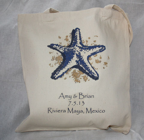 Star,of,the,Sea,Tote,Bags_And_Purses,starfish,personalized_tote,custom_tote,destination_wedding,out_of_town_guests,hospitality_bag,beach_wedding,beach_bride,bridal_shower,engagement,etsynj_team,barefoot_bride,wedding_favor