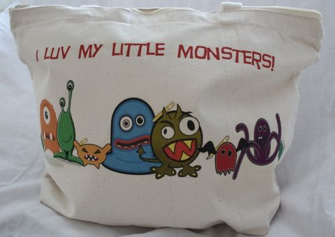 I,luv,my,Little,Monsters,Tote-,Mommy,or,Teachers,Gift,Bags_and_Purses,Tote,Canvas,teachers_gift,monsters_tote,bags,bags_and_totes,monsters,personalized,etsynj_team,back_to_school,back_to_school_gift