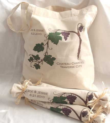 Winery-,Vineyard-,Tote,Bags-,Destination,Wedding,bags_and_purses,tote,wedding,destinationwedding,winery,winery_wedding,grapevines,wedding_favor,hotel_welcome,etsynj_team,bride,tote_bag,vineyard