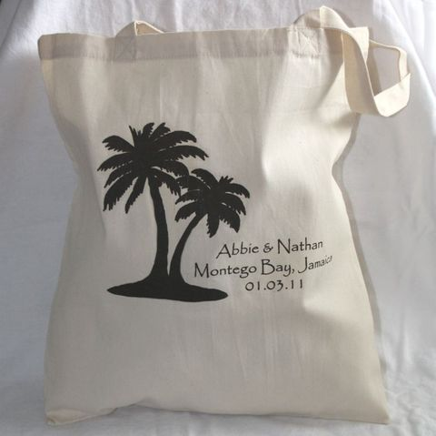 Destination,Wedding,Totes-,Palm,Trees,weddings,wedding_favor,destinationwedding,tote_bags,totes,beach_bride,barefoot_bride,shore,beach_wedding,etsynj_team,hotel_guest,hotel_welcome,tropical_wedding,palm_trees