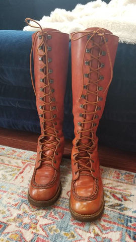 Vintage,Lace,Up,Zodiac,Boots,Clothing,Shoes,Women,Vintage_boots,1970s,1970s_style,hippie,bohemian_boots,bohemian_style,zodiac_boots,leather_laceup_boots,lace_up_boots