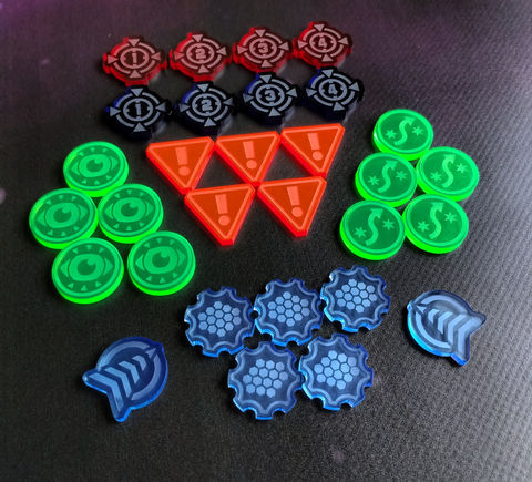 X-Wing,compatible,laser,cut,token,starter,set,(30,tokens),x-wing xwing miniatures game tokens counters acrylic laser cut