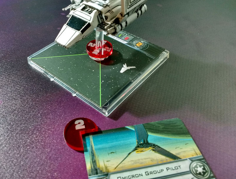 X-wing ship identifier set (1-5) large ships - product images  of