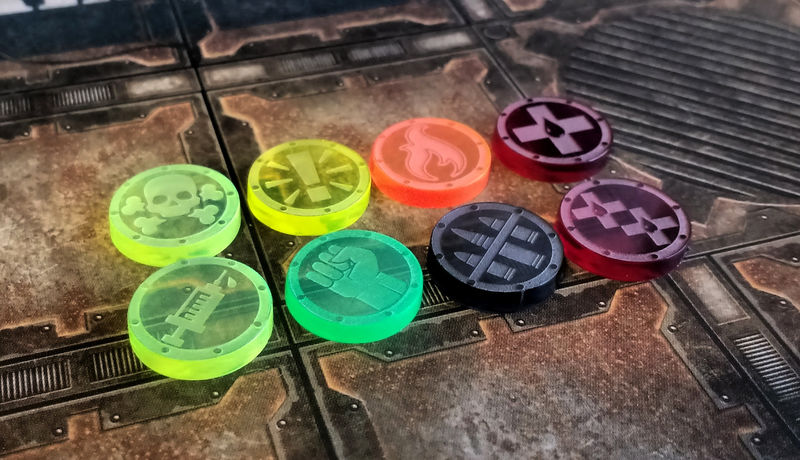 Hive War Tokens (5 of a kind) - product images  of