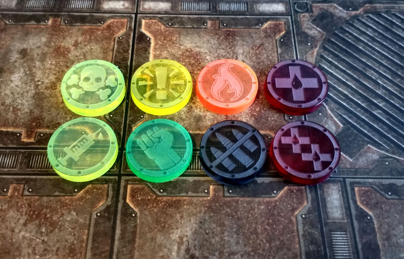 Hive War Tokens (10 of a kind) - product images  of