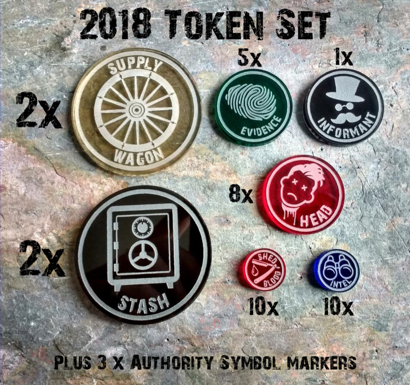 2018 Scenario Token Set (41 Tokens) - product images  of