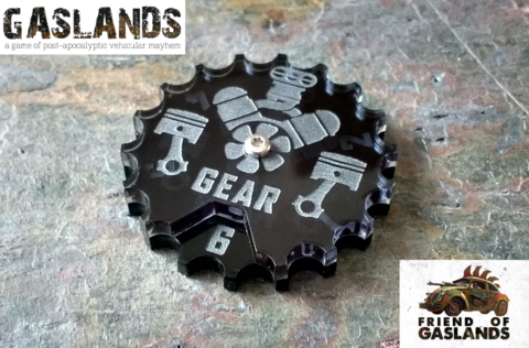Gaslands,Dial,(Ammo/Gear),(Single),Gaslands tokens, gaslands