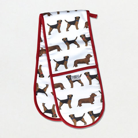 Border,Sausage,Double,Oven,Gloves,Oven glove, double oven glove, border terrier, terrier, print, dog print, dog fabric, fabric, dog, sausage dog, dachshund, dachshund fabric, oven glove, oven mitt, puffin print, double oven mitt, puffin print oven mitt, puffin oven mitt, puffin oven glove