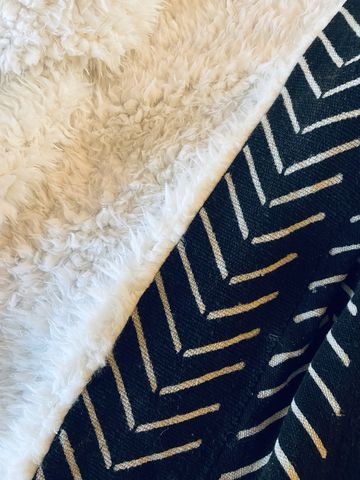 Coziest,Blanket,Ever,cozy blanket, hygge, mudcloth blanket, mudcloth, african, textiles, blankets, throws, coverlet, bedspread, handmade, blanket, black and white