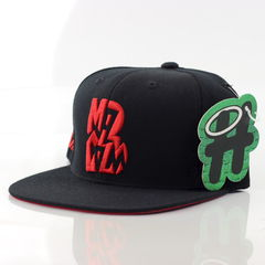 Malcolm B x Halos Snapback - product images  of