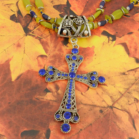 Scarf,Jewelry,with,Cobalt,Blue,Cross,~,Accessory~,Slide,scarf_charm,scarf_accessory,scarf_pendant,scarf_jewelry,crystal_cross,rhinestone_cross,cross_pendant,scarf_slide,scarf_bling,religious_jewelry,rose_bail,cobalt_blue,blue_rhinestones,rose design bail,cobalt blue rhinestone cross