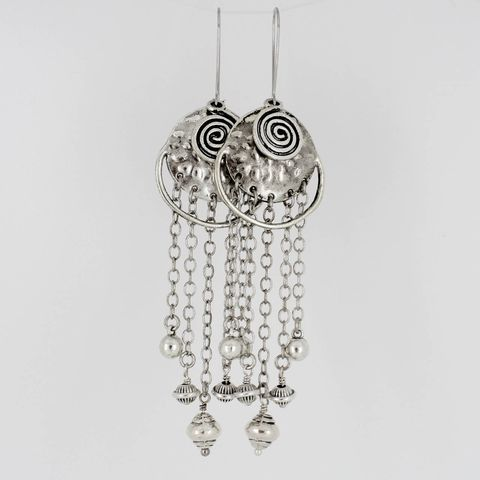 Long,Bohemian,Dangle,Earrings,Jewelry,dangle_earrings,gift_for_her,unusual_jewelry,newest_trends,sophisticated,classy_earrings,Tibetan_earrings,statement_earrings,Ethnic_earrings,Tribal_Earrings,silver_chains,Silver chains,connectors,beads,kidney wires,headpins,jumprings