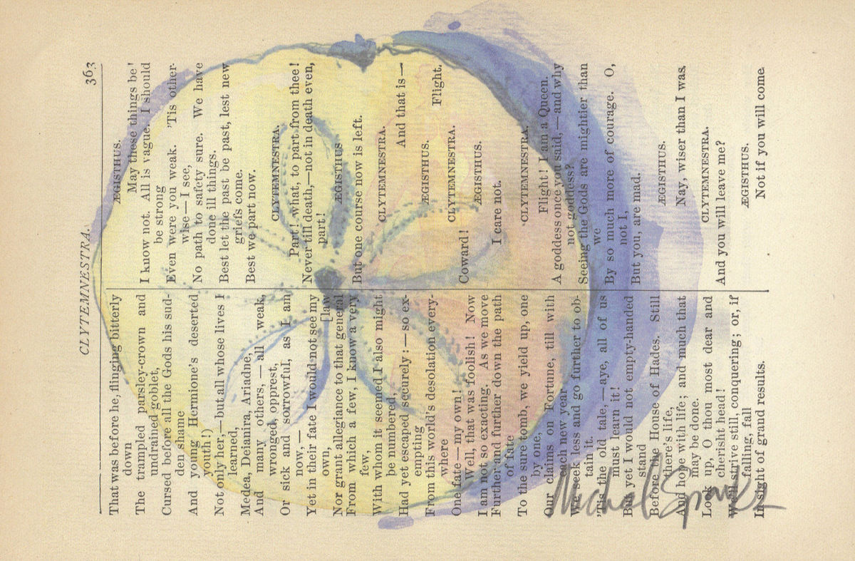Ocean\'s Currency, Watercolor Printed on Antique Book Page - A Clever ...