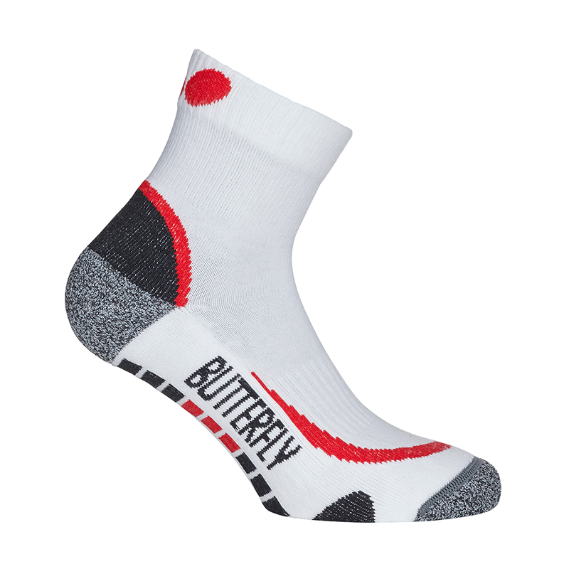 Butterfly Hisa Socks (Red or Blue) - product images  of