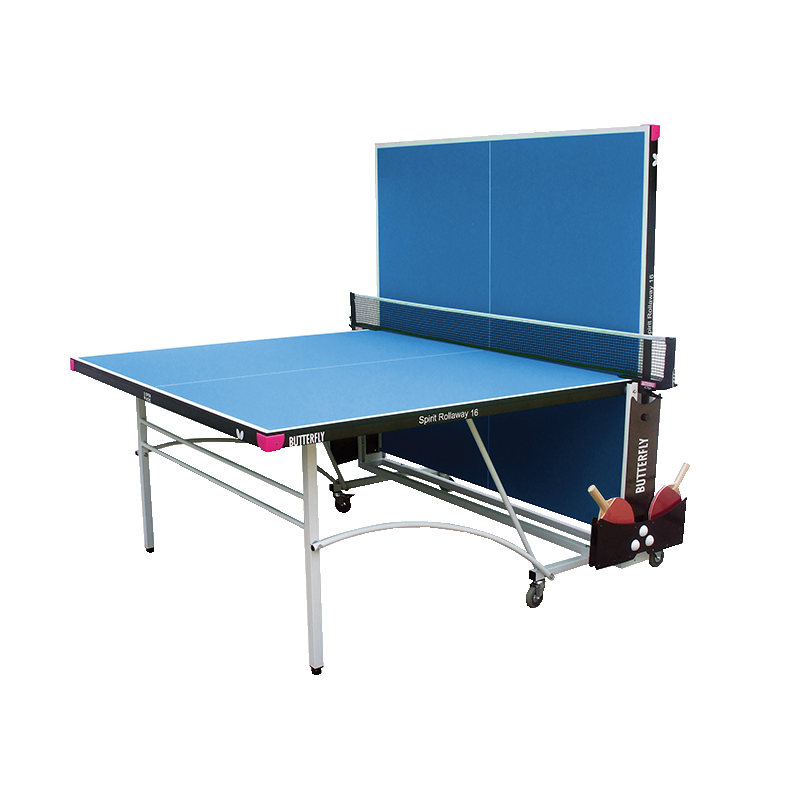 Butterfly Spirit 16 Indoor Rollaway Table Tennis Table - product images  of