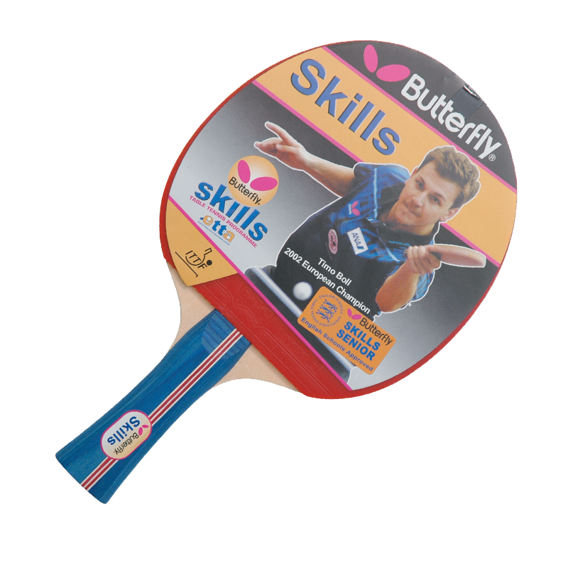 Butterfly Skills Senior Table Tennis Bat - product image