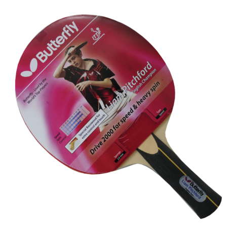 Butterfly,Pitchford,Drive,2000,Table,Tennis,Bat