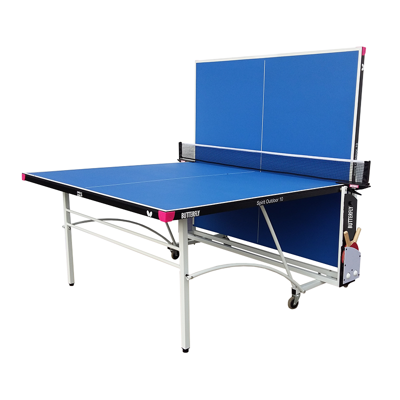 Butterfly Spirit 10 Outdoor Rollaway Table Tennis Table - product images  of