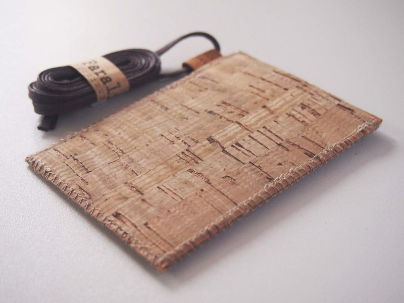 Cork Ribbon Badge Holder (custom made size) - product images  of