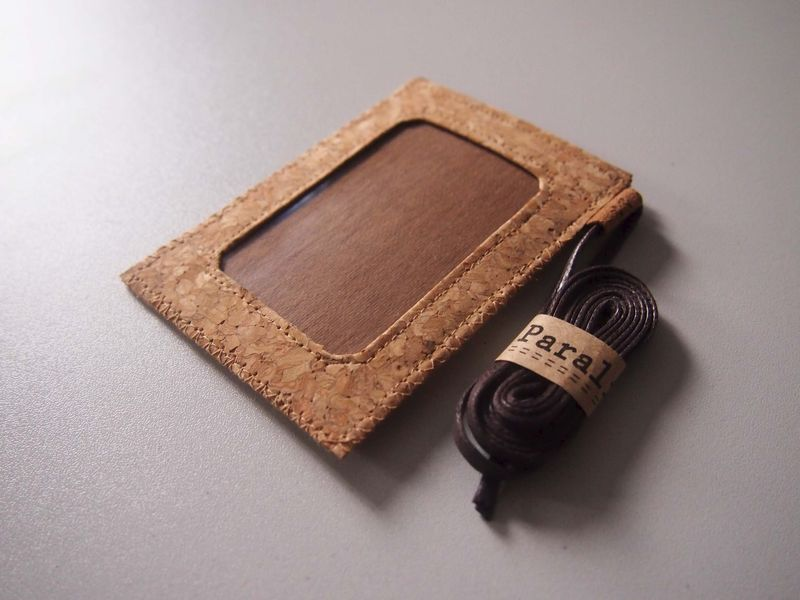 Cork Badge Holder (custom made size) - product images  of