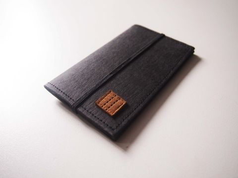 Black,denim,tag,paper,card,holder