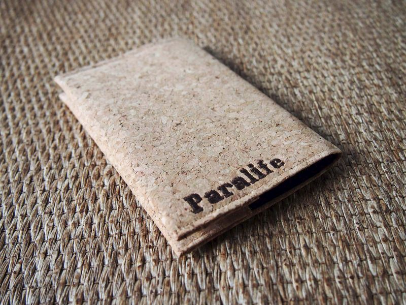 Paralife YOUR NAME's Cork Passport Cover - product images  of
