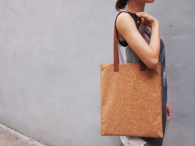 Paralife Custom Handmade Cork Tote Bag - product images  of